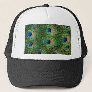 Peacock Feathers - Peafowl Trucker Hat