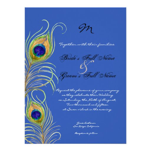 Royal Purple Wedding Invitations for perfect invitation example