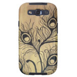 Peacock Feathers Samsung Galaxy S3 Case