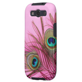 Peacock Feathers Samsung Galaxy S3 Case-Mate Case