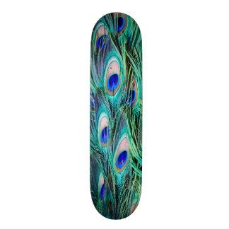 Peacock Feathers Skateboard