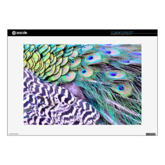 """Peacock Feathers Skins For 15"""" Laptops"""