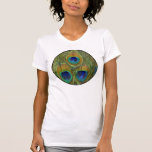 Peacock Feathers Tee Shirt
