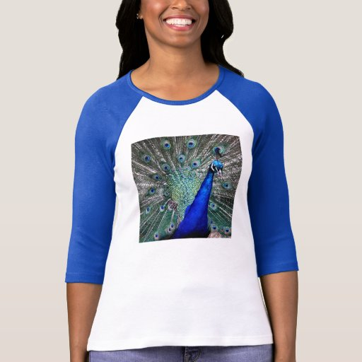 Peacock Feathers Tees