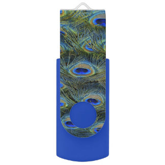 Peacock Feathers USB Flash Drive