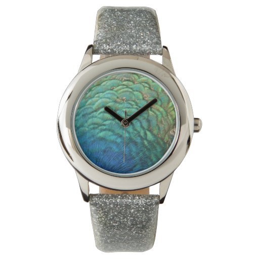 Peacock Feathers Watch