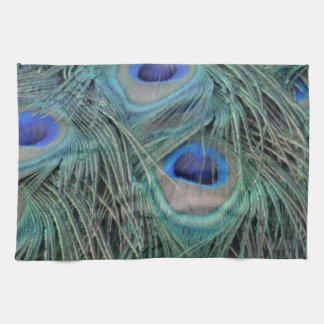 Peacock Feathers With Eye Spots Towel