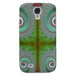 Peacock Fern Unfurling Fractal Samsung Galaxy S4 Case
