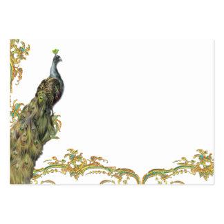 Peacock & Filigree Business/Profile Card Business Card Templates