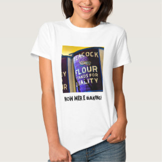 Peacock Flour for Great Baking Tee Shirt