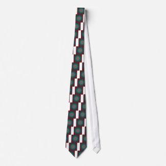 Peacock Fractal Neck Tie