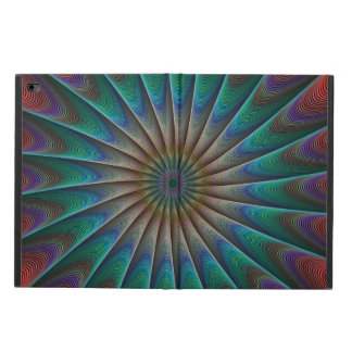 Peacock fractal powis iPad air 2 case