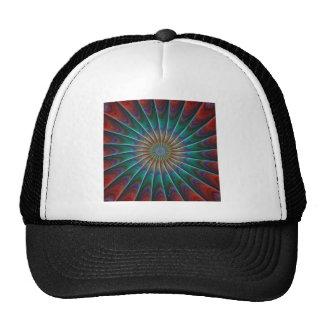 Peacock Fractal Trucker Hat