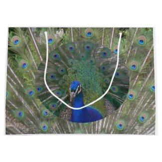 Peacock Gift Bag