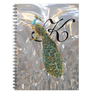 Peacock Glam Notebook