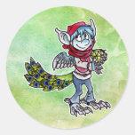 Peacock Goblin Stickers