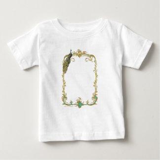 Peacock & Gold Filigree Shirts
