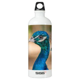 Peacock Head Water Bottle