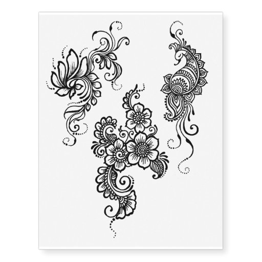 29 perfect henna tattoo designs sheet. Black Bedroom Furniture Sets. Home Design Ideas