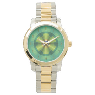 Peacock Illusion Watch