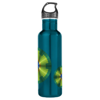 Peacock Illusion Water Bottle