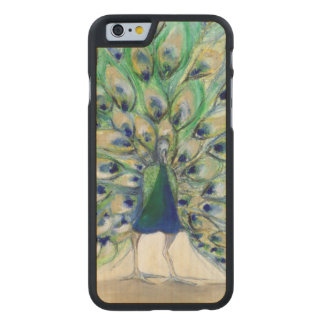 Peacock in San Diego 2 2013 Carved Maple iPhone 6 Slim Case