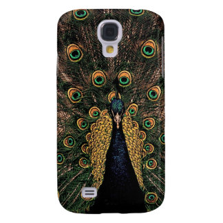 Peacock in Slightly Subdued Colors Galaxy S4 Cover