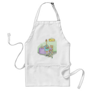 Peacock in the Kitchen Apron