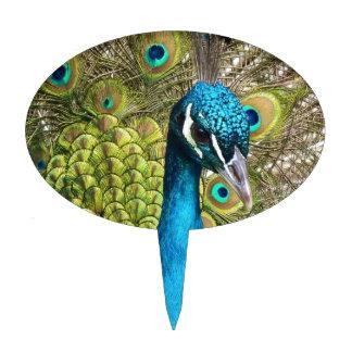 Peacock. indio figura para tarta