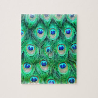Peacock Ink Jigsaw Puzzle