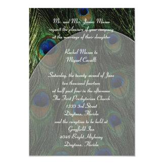 Peacock Invitation