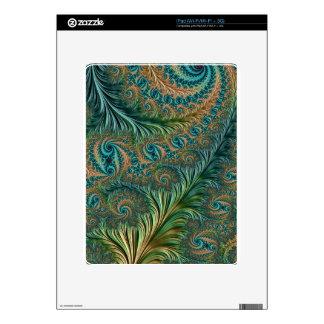 Peacock iPad Decal