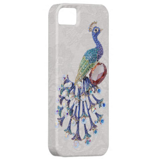 Peacock Jewel Image Paisley Lace Photo iPhone SE/5/5s Case