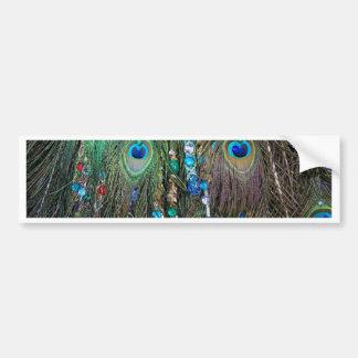 Peacock Jewelery Bumper Sticker