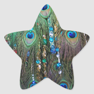 Peacock Jewelery Star Sticker