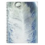 peacock.jpg blanco libreta espiral
