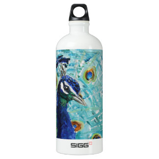 Peacock just for you our to give SIGG traveler 1.0L water bottle