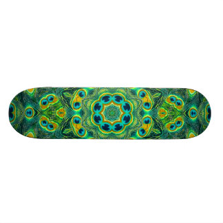 PEACOCK KALEIDOSCOPE Skateboard