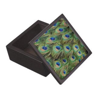 Peacock Keepsake Box Premium Trinket Boxes