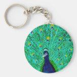 Peacock Key Chain