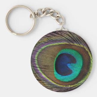 Peacock Keychain