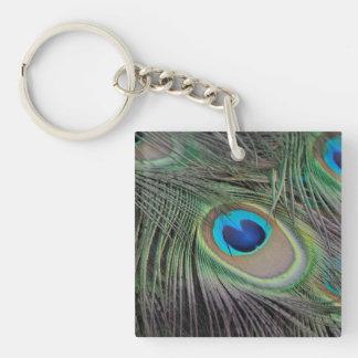Peacock Acrylic Keychains