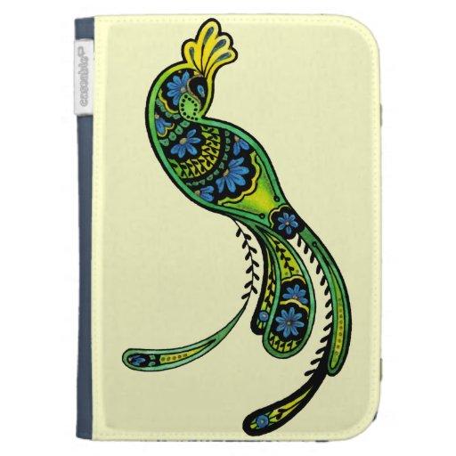 Peacock Kindle Folio Caseable Case Kindle Covers