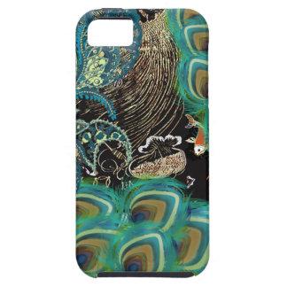 Peacock Koi Japanese Asian iPhone 5 Case