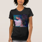 Peacock Lady's Wings of Duality T-Shirt