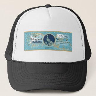 Peacock LIma Beans Vintage Label Trucker Hat