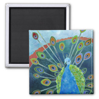 Peacock Magnet