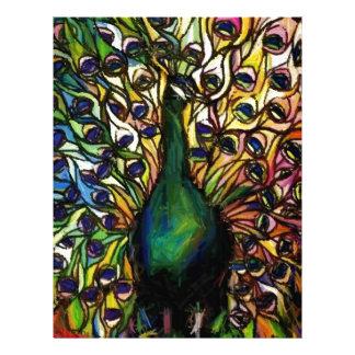 Peacock Majestic Letterhead