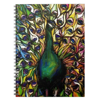 Peacock Majestic Notebook