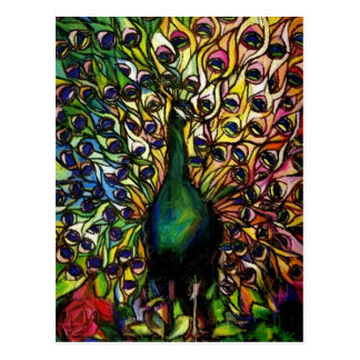 Peacock Majestic Postcard